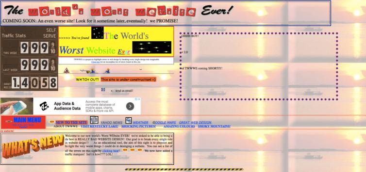 worst website