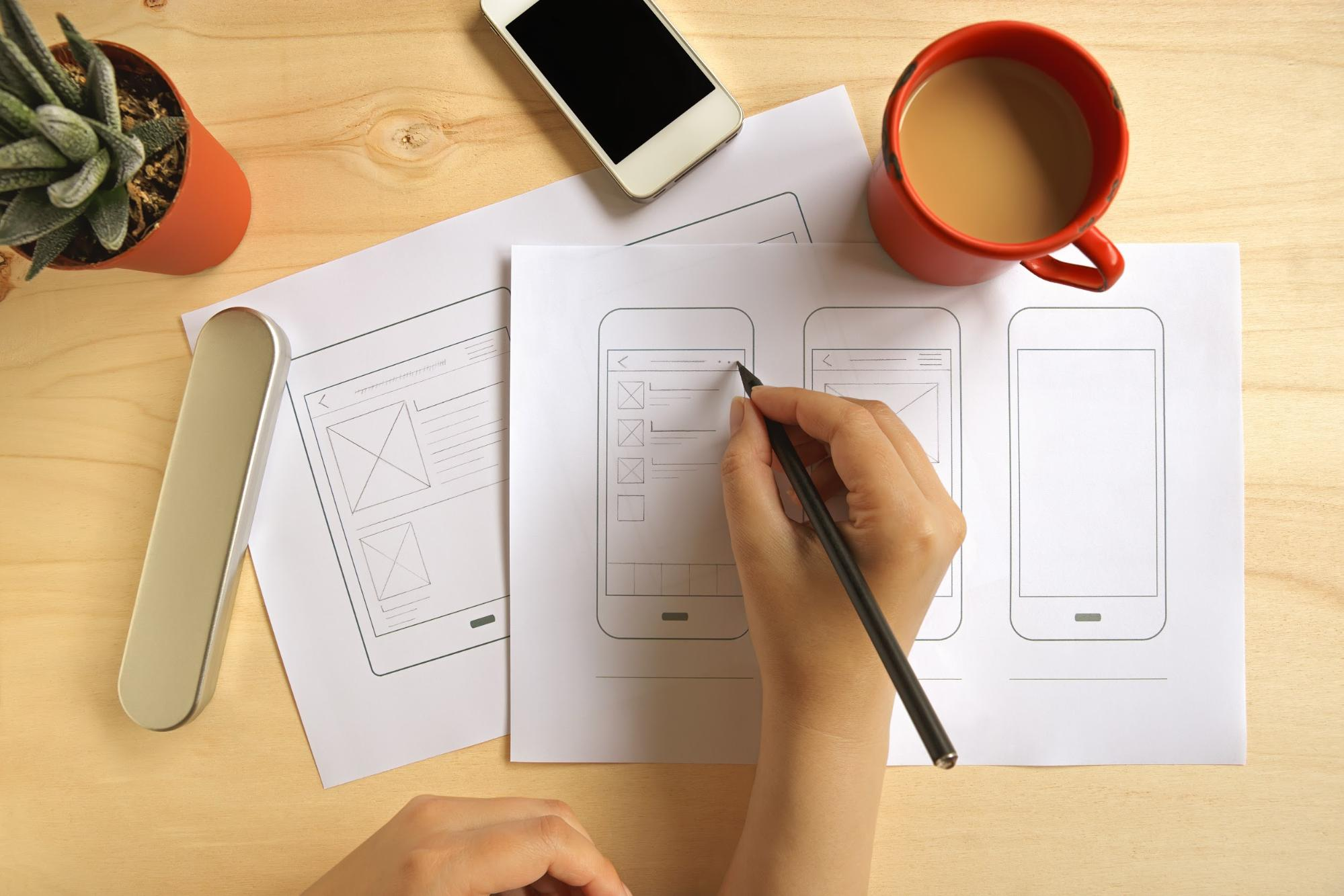How to Create Mobile App Wireframe