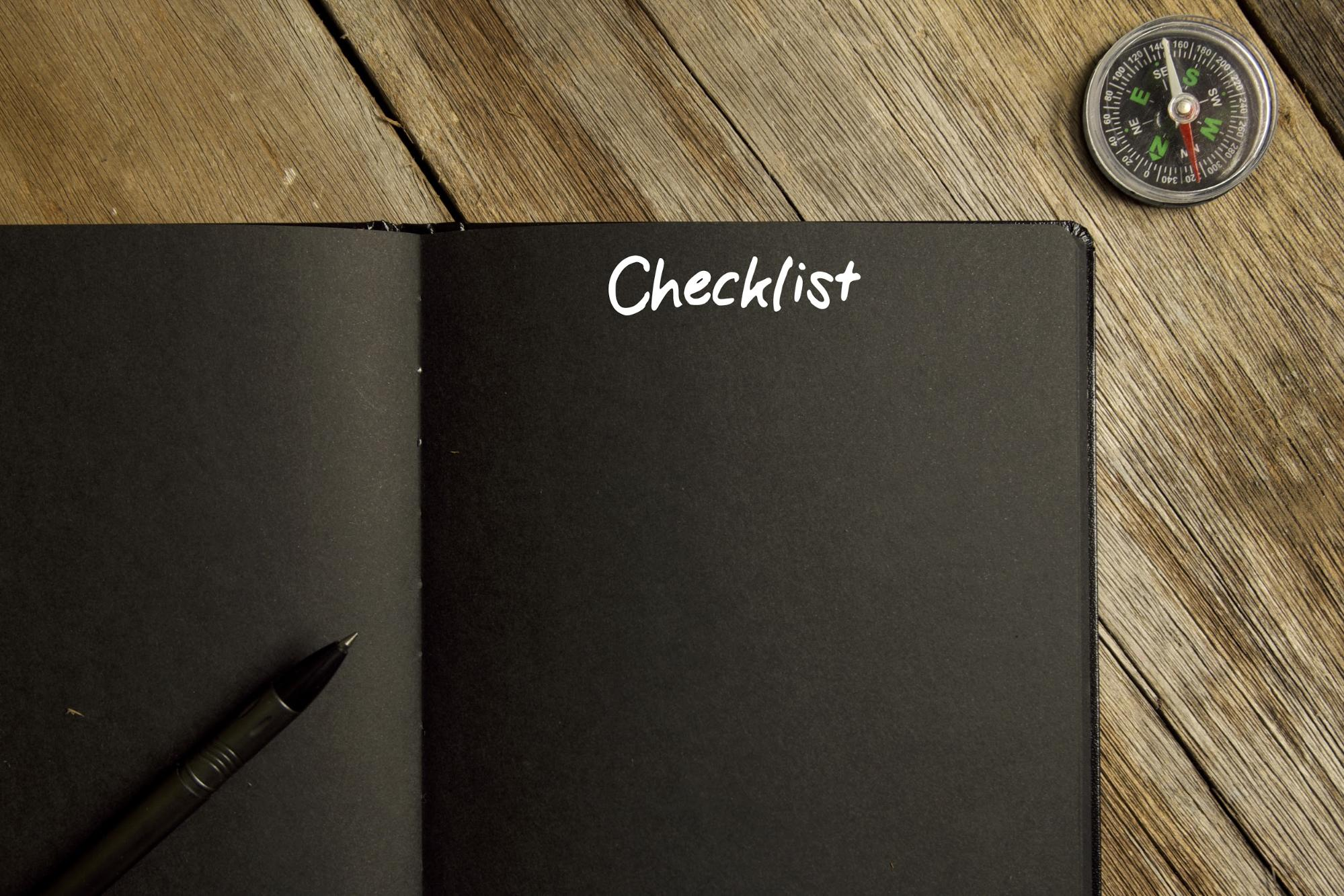 10 Point Checklist For Creating a New Website